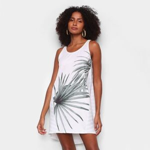 Vestido Lança Perfume Mullet Curto Comfy - Feminino-Off White