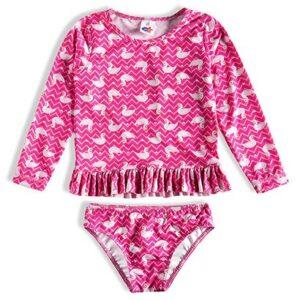 Conjunto Praia Toddler Tip Top Estampado Feminino - Feminino-Rosa