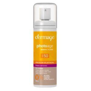 Protetor Solar Dermage - Photoage Mineral Color Fluid FPS 50 50ml - Unissex-Incolor