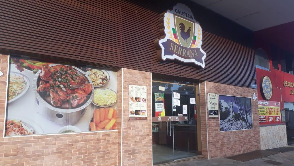 Galeteria Serrana da 404 Sul, Rua dos Restaurantes, Bloco C, Comércio do DF