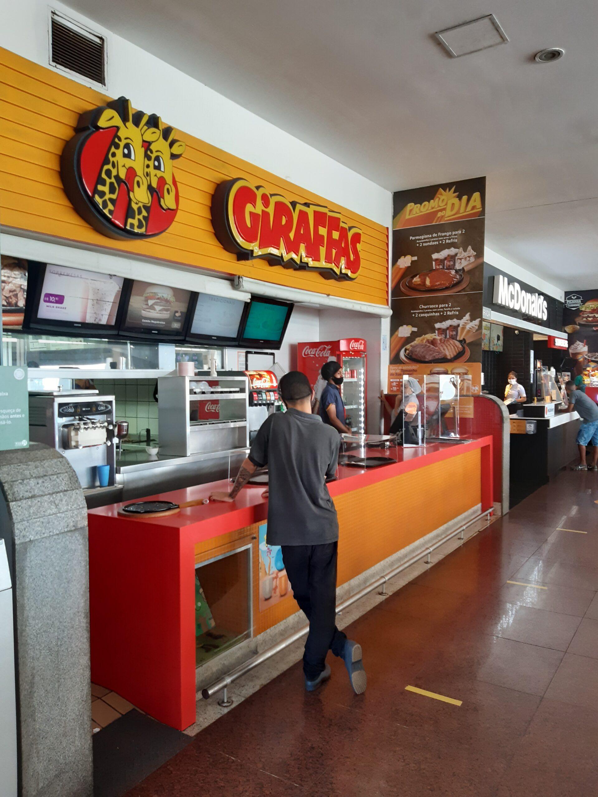 Giraffas do Shopping Pier 21