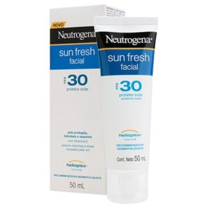 Protetor Solar Facial Neutrogena Sun Fresh FPS 30 50ml - Unissex-Incolor