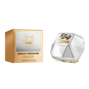 Perfume Feminino Lady Million Lucky Paco Rabanne Eau de Parfum 30ml - Feminino-Incolor