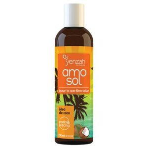 Leave-In Yenzah Amo Sol Praia e Piscina 240ml - Feminino-Incolor