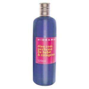 Óleo Corporal Hidramais - Perfume de Bebê 120ml - Unissex-Incolor