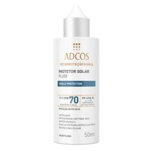 Protetor Solar Shield Protection FPS 70 Fluid Incolor Adcos 50ml - Unissex-Incolor