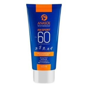 Protetor Solar Facial Anasol An Sport FPS60 60ml - Unissex-Incolor