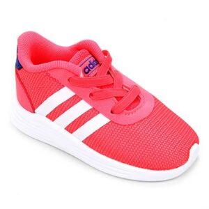 Tênis Infantil Adidas Lite Racer 2.0 I - Unissex-Pink+Branco