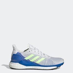 Tênis Solar Glide ST 19  Adidas - Masculino-Branco+Azul