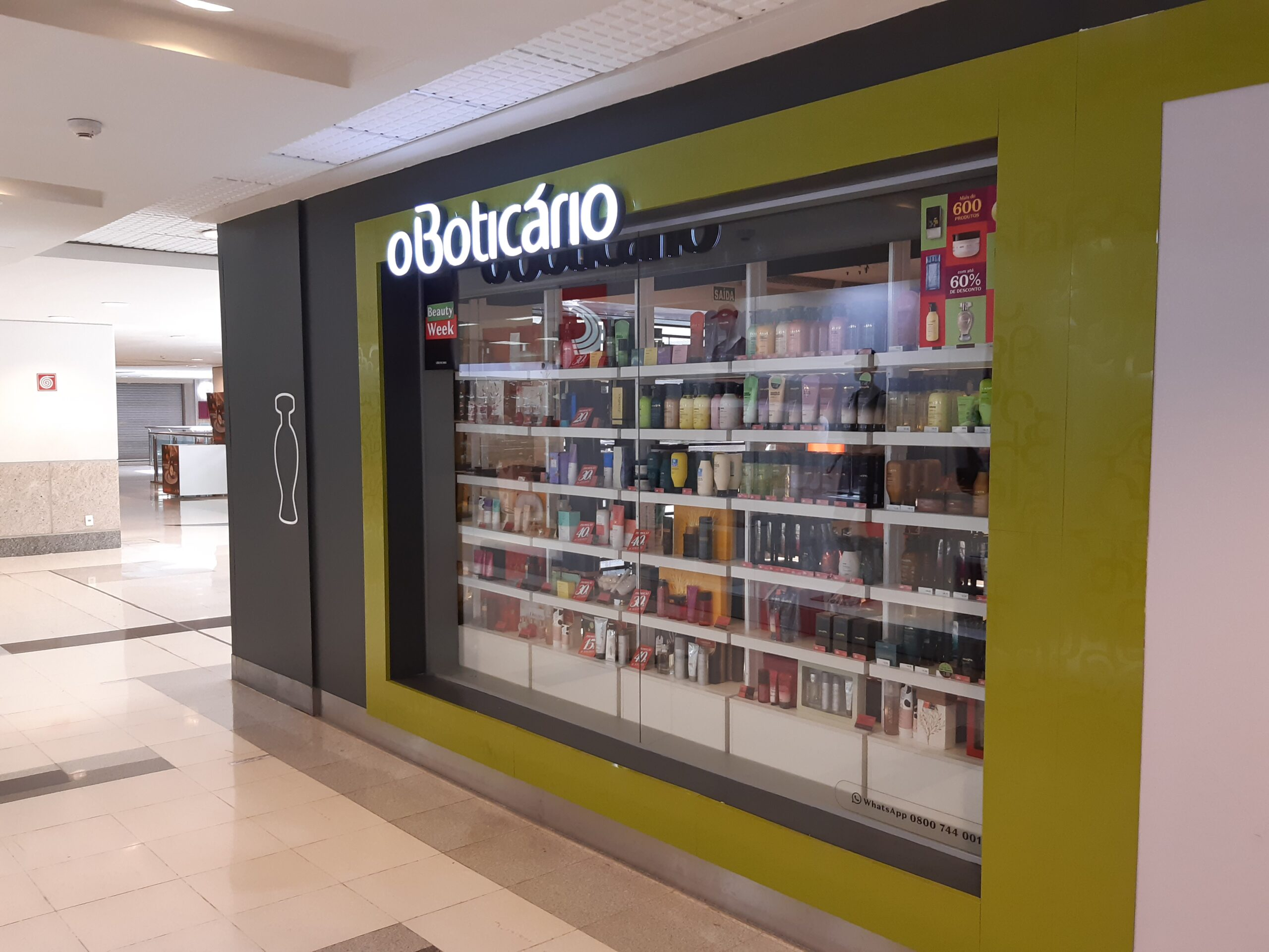 O Boticário do Shopping Conjunto Nacional, 2º Piso