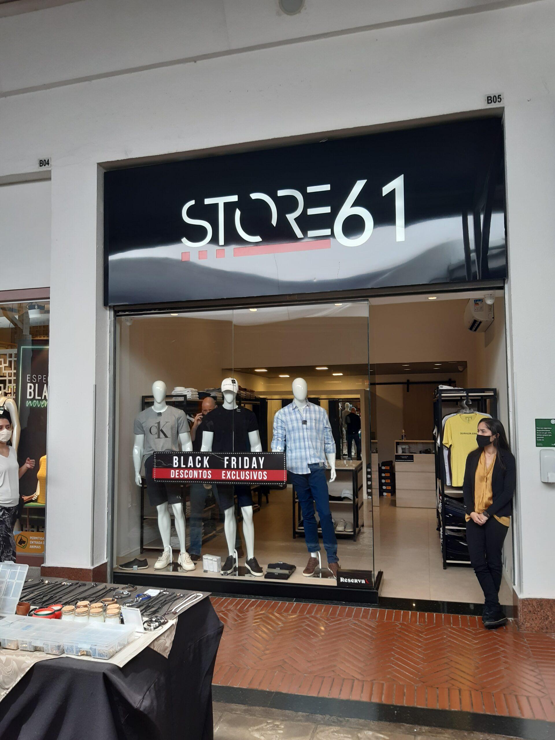 Store 61 do Shopping Pier 21