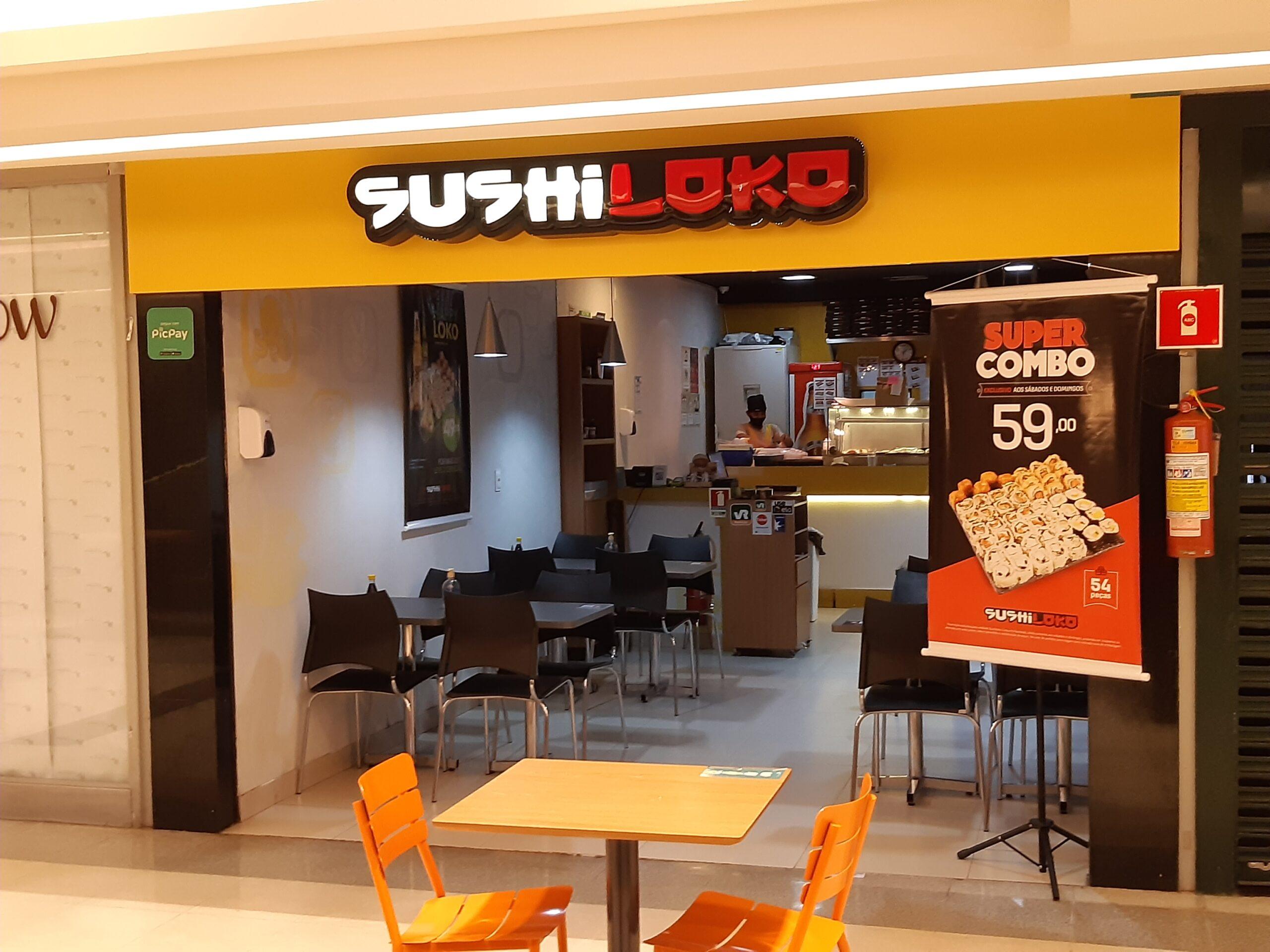 Sushi Loko do Shopping Conjunto Nacional, 2º Piso