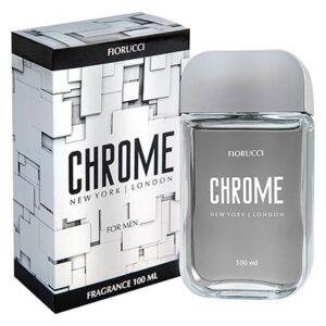 Chrome Fiorucci- Perfume Masculino - Deo Colônia - 100ml - Masculino-Incolor