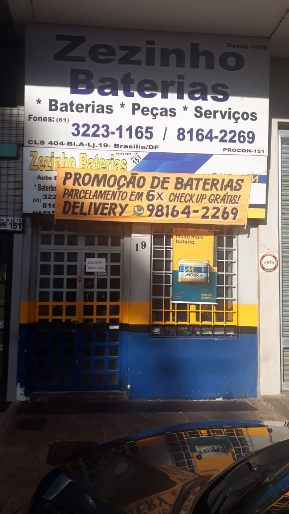 Zezinho Baterias 404 Sul, Bloco A, Comércio do DF