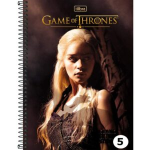 Caderno Universitário - Game of Thrones - Daenerys - 96 folhas - Capa Dura