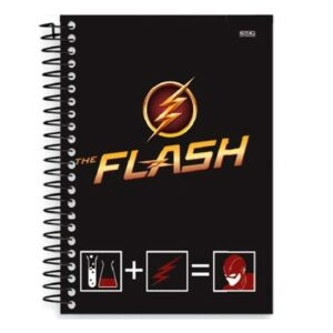 Caderno Universitário - The Flash Fórmula - 96 folhas - Capa Dura