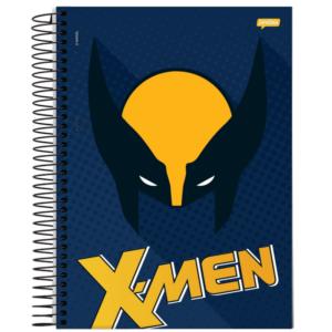 Caderno Universitário - X-men - Máscara Wolverine - 200 folhas - Capa Dura