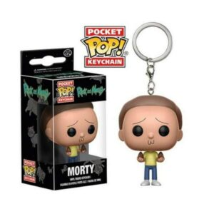 Funko Pocket Keychain - Morty - Animação Rick and Morty