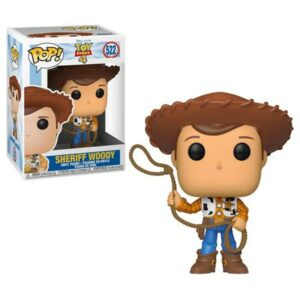 Funko Pop Xerife Woody - Animação Toy Story 4 - Disney