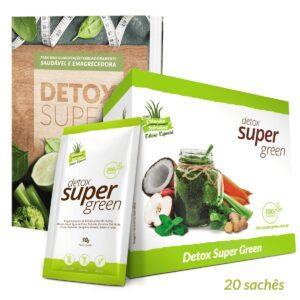 1 caixa Detox Super Green (Edição Especial) + Livro de Receitas Digital