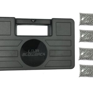 Maleta/case para armas airsoft e airgun + 2000 esferas de aço