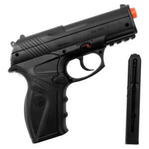 Pistola De Pressão Rossi C11 Co2 6mm Esfera de aço  - 6 mm - Preto