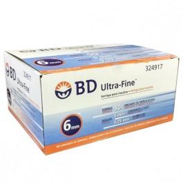 Seringa BD Ultra Fine c/100 Agulhas 6mm p/50(UI)