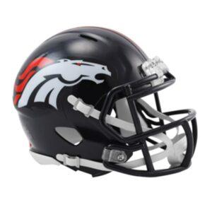 Linha Mini - Capacete NFL - Denver Broncos