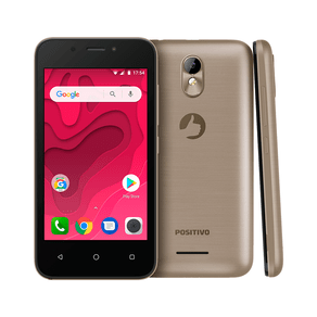 "Smartphone Positivo Twist Mini S431 8GB Dual Chip 4"" - Dourado"