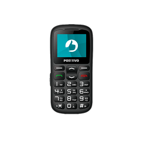 "Feature Phone Positivo P36 3G 1.8"" - Preto"
