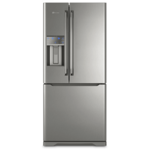 Geladeira Frost Free Electrolux 538 Litros 3 portas Inverse Cor Inox com Água na Porta (DM86X)