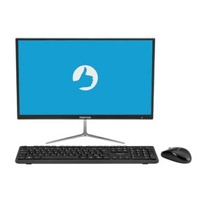 "All in One Positivo Union C4500Ai Intel® Celeron® Dual-Core™ Linux Tela 21.5"" - Preto"