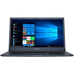 "Notebook Positivo Motion C464D Intel® Dual-Core™ Windows 10 Home 14""  - Cinza"