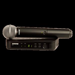 Microfone sem Fio BLX24/SM58 BLX24BR/SM58-M15