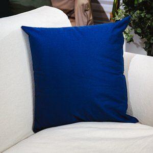 Almofada Santorine Azul Marinho 45x45cm