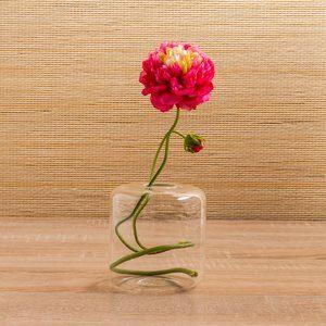 Vaso de Vidro Anhua Transparente 11cm
