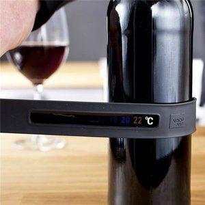 Termomêtro para Vinho Vacu Vin Cinza