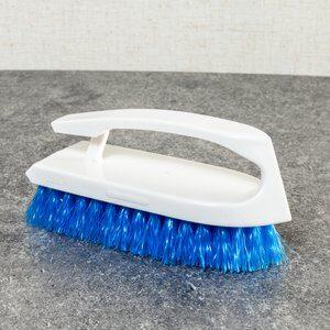 Escova de Lavar Roupa Rubbermaid Cinza e Azul 8x2cm
