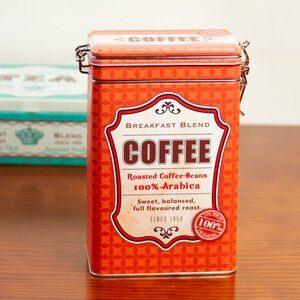 Pote para Café Can de Metal 12x19cm