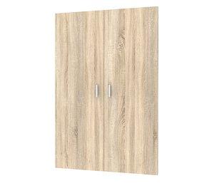 Jogo de Portas para Estante Bocca Oak 106,6x74,6cm 2 Portas