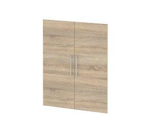 Jogo de Portas para Estante Prima Oak 105x83cm 2 Portas