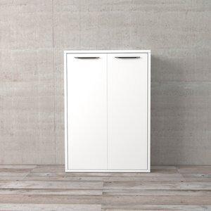 Jogo de Portas para Estante Disegno Branco com Brilho 105x75cm 2 Portas