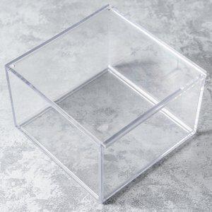 Caixa Organizadora Clarity Transparente 15x10cm