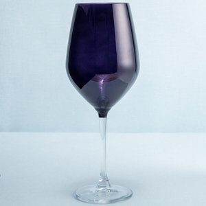 Taça de Água Passion de Vidro Roxo 500ml