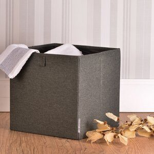 Cubo Organizador Bigso Cabinet Cinza 31x31cm