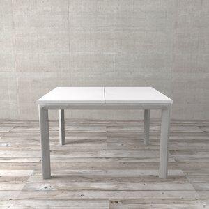 Mesa de Jantar Extensível Sttugart Branca 120x100cm