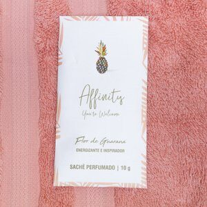 Sachê Perfumado Affinity Flor de Guarana 10G