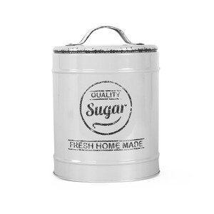 Pote para Açúcar Lille de Metal Cinza D13