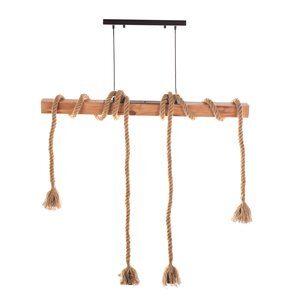 Pendente Rope Marrom 100cm