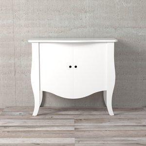 Gabinete para Banheiro Harry Branco 87x43x75cm